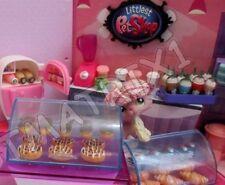 Littlest Pet Shop Lot 5 Random Food Cake Bakery Starbucks Accessories Gift Bag