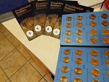 Ultimate Presidential Gold Dollar Complete 156 Coin Set P&D Mint Vol 1&2 Pos A&B