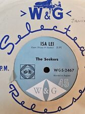 45rpm single - The Seekers - Isa Lei/Cotton Fields (Exc)