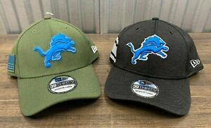 New Era NFL Detroit Lions Hat Salute to Service ON FIELD 39THIRTY ✅ Small - XL✅