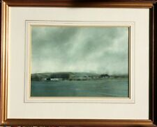 Vtg. Watercolour Painting 'Squall' Moody By Caulkin D. Broughton Worcestershire