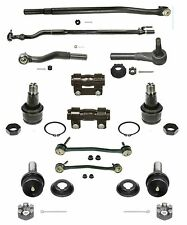 12 Piece Tie Rod Ball Joint  Kit for Ford Excursion, F250 & F350 Super Duty 4WD