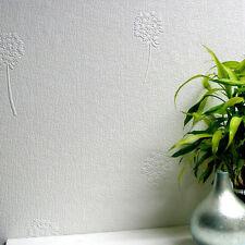 RD80005 Anaglypta Wallcovering Luxury Textured Vinyl Dandelion Blush