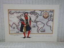 Vecchia cartolina foto d epoca di FERNANDO DE MAGELLANO REPUBBLICA RAGAZZI
