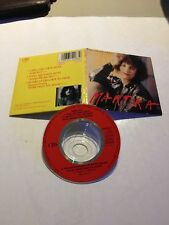 "MCD 3"" Inch CD Maxi Martika I Feel The Earth Move 1989 CBS"