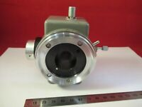 OLYMPUS JAPAN VERTICAL ADAPTER HEAD OPTICS MICROSCOPE PART AS PICTURED &95-B-17