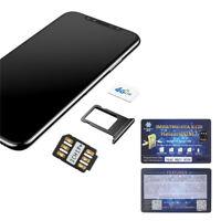 Nano-SIM Unlock Card Heicard Sim Chip For iPhone X 8 7 6S 6 Plus 5S SE iOS 10-12