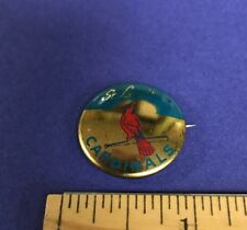 1964 Crane Potato Chips St. Louis Cardinals Vintage Pin/Pinback Button