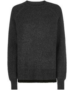 Sweaty Betty Shakti Crew Neck Wool Blend Jumper Size S 2300-B7
