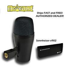Sennheiser E902 Dynamic Kick Mic E 902 Bass Drum Microphone SAME DAY SHIPPING!!!