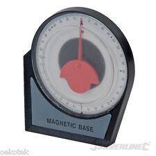 Neigungsmesser m. Magnetfuß Ø 100 mm f. Dachdecker, Gerüstbau Silverline 250471