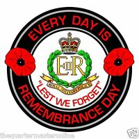 RMP Royal Military Police Remembrance Day Inside Car Window Clear Cling Sticker