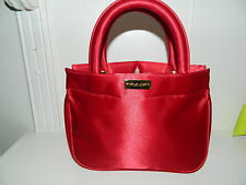 EMANUEL UNGARO red Travel or make up Bag Rare