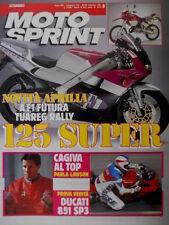 Motosprint 8 1991 Novità Aprilia A F1 Futura Tuareg Rally. Lawson: Cagiva al top
