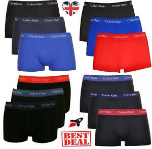 Calvin Klein Boxers CK Low Rise underwear 3 in Pack Trunks