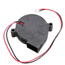 1pcs 5015S 5V 0.1-0.3A Black Brushless DC Cooling Blower Fan 50x15mm