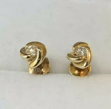 14CT Gold Earrings With Diamonds
