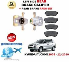 Per Hyundai Tucson 2.0 Crdi 2.7 2.0i 2005-2010 Posteriore SX Pinza Freno + Pads