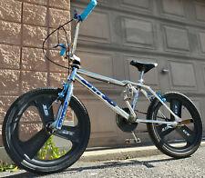 DYNO AIR CHROME Blue Old Mid School BMX Freestyle Bike Original Survivor w/ Mags