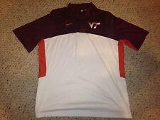 2013 Virginia Tech Hokies Marshall Wood #33 Game Used Shooting Shirt *XXL*