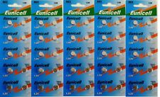 ENVOI AVEC SUIVI - EUNICELL - 50 Piles Bouton  AG3 / 392 / LR41 / SR41SW