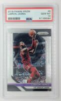 2018 18-19 Panini Prizm LeBron James #6, Los Angeles Lakers, Graded PSA 10