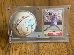 Tom Seaver Autographed Signed National League Baseball