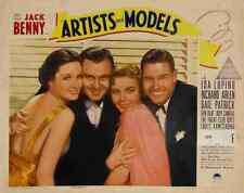 Artists and Models 1937 02 Film A3 Box Canvas