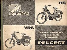 Catalogue de pieces détachées PEUGEOT BB RS VRS mobylette 1965