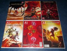 RED DOG #1 2 3 4 5 6 1st print set 451 MEDIA GROUP ANDI EWINGTON NM SCI FI K-9