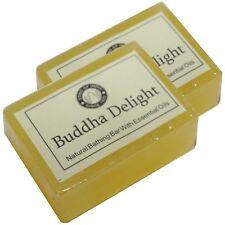 Bouddha Delight Savon naturel 2 x 125g parfumé à la glycérine Song of India