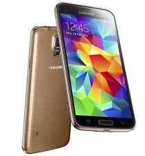 5.1'' GOLD Samsung Galaxy S5 G900P 16GB 16.0MP Camera 3G/4G Unlocked Smart Phone