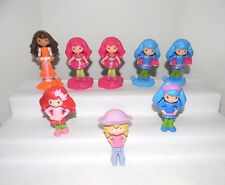 McDonalds Toys~Strawberry Shortcake Dolls~8 Pcs.~Five 2011, Two 2010, One 2006