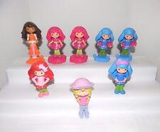 McDonalds Toys~Strawberry Shortcake Dolls~8 Pcs.~Five 2011, Two 2010, One 2006
