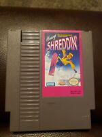 Heavy Shreddin (Nintendo NES) Tested & Working