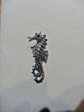 jolie broche cheval de mer - hippocampe
