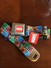 Avengers Kawaii Seat Belt Iron Man Hulk Thor Buckle Down Belt Marvel Comics 0064