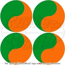 IRELAND Irish Air Corps 1939-54 Former Aircraft Roundel 50mm Stickers Decals x4