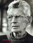 Publicité Advertising 088  1991    Samuel Beckett en 1989  François Marie Banier