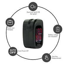 New Finger Pulse Oximeterspo2 Blood Oxygen Monitorpulse Heart Rate Meter