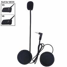 Microfono Cuffia per V6/V4 Moto Casco Bluetooth interfono Intercom