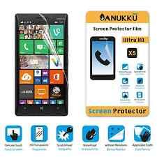 3x PELLICOLA per Nokia Lumia 830 FRONTE + PANNO PROTETTIVA DISPLAY