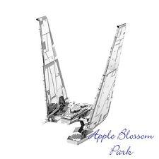 Metal Earth STAR WARS Kylo Ren's Command Shuttle 3D Model Laser Cut Steel  Kit