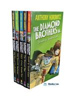 The Diamond Brothers Collection By Anthony Horowitz - 5 Books Pack Set