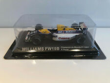 1/43 IXO Voiture Miniature Williams Fw15b Champion Du Monde F1 1993 A.Prost Neuf