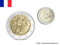 2 Euros Commémorative France 2021 UNICEF UNC