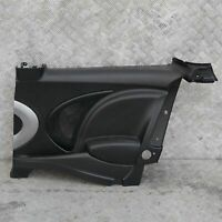 MINI Cooper R56 Lateral Interior Trim Panel Quarter Rear Right O/S Black / Grey
