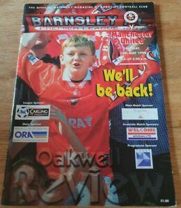 Barnsley v Manchester United 10/05/98