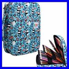 220 Colored Pencil Case Multi Holder LARGE Capacity Pen Organizer Bag For Waterc