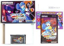 ROCKMAN & FORTE Megaman Nintendo Game Boy Advance GBA Reg Jap Japan